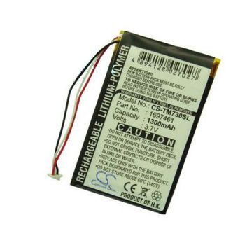 Baterie (ekv. VF8) pro TomTom Go 530 Live, 630T, 720, 730T, 930T, Li-pol 3,7V 1300mAh + univerzální nabíječka bateriíí