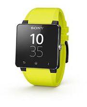 Sony náhradní řemínek pro SmartWatch SW2, žlutá