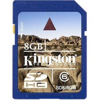 Kingston SDHC 8GB (Secure Digital) - Class 6