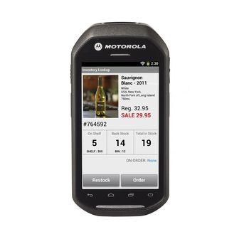 Motorola MC40 - SILVR MSR GING 1/8GB PTT MC40N0-SCG3RM0