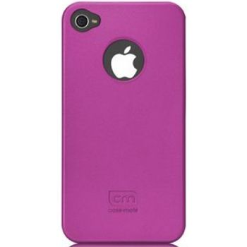Case Mate pouzdro Barely There - Pink (Rubber) pro iPhone 4