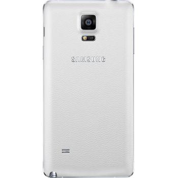 Samsung výměnný zadní kryt EF-ON910SW pro Galaxy Note 4 (N910), bílý