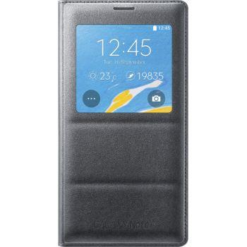Samsung flipové pouzdro S-View EF-CN910BC pro Galaxy Note 4 (N910), černé