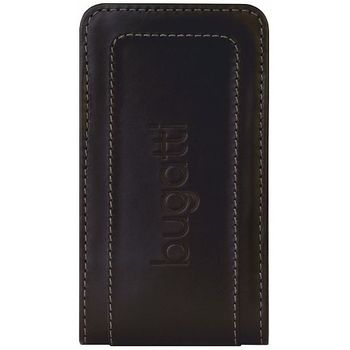 Bugatti Twin leather case Universal M (120 x 63mm) - černé
