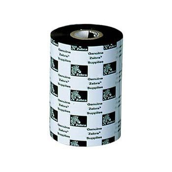 Zebra standardní vosk, 5555, 110MMx30m 10R/B, pro tiskarny P4T 05555BK110D