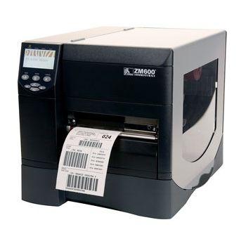 Tiskárna Zebra ZM600, 203DPI, ZPL, ETH,Value peel roll rewind ZM600-200E-5100T