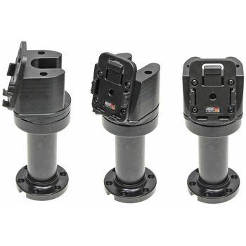 Brodit sestava otočného montážního podstavce a MultiMove clipu, výška 165 mm, sklon 75°, černý, PBR-215633