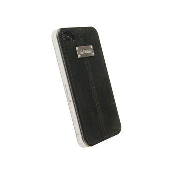 Krusell hard case - Luna Undercover Faux Nubuck - Apple iPhone 4/iPhone 4S (černá)