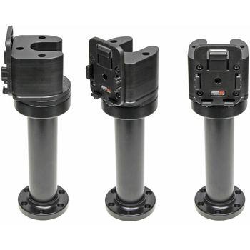 Brodit sestava otočného montážního podstavce a MultiMove clipu, výška 215 mm, sklon 90°, černý, (215640)