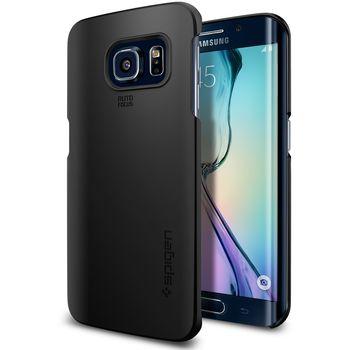 Spigen kryt Thin Fit pro Samsung Galaxy S6 edge, černá