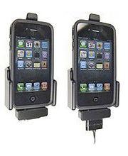 Brodit držák do auta na Apple iPhone 4/4S v pouzdru s průchodkou pro kabel Lightning s pojistkou