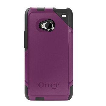 Otterbox - HTC One Commuter - fialová/černá
