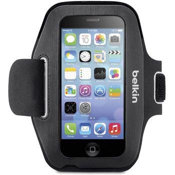 """Belkin sportovní pouzdro na ruku Sport-FIT pro telefony s displejem do 5"""", černé"""