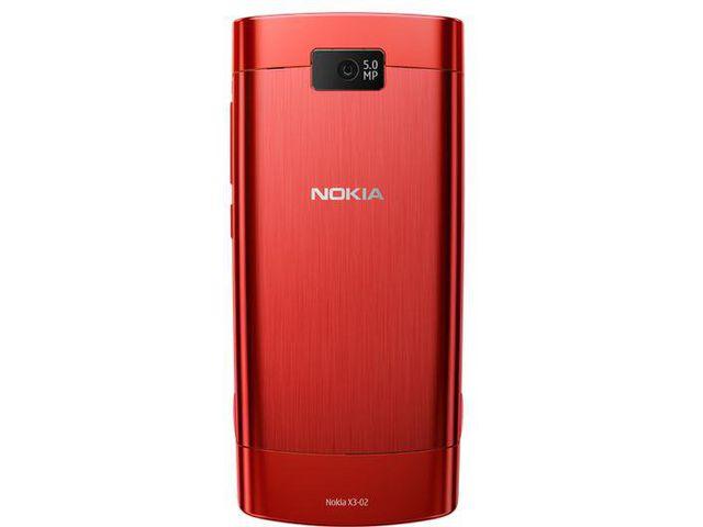 obsah balení Nokia X3-02.5 Red