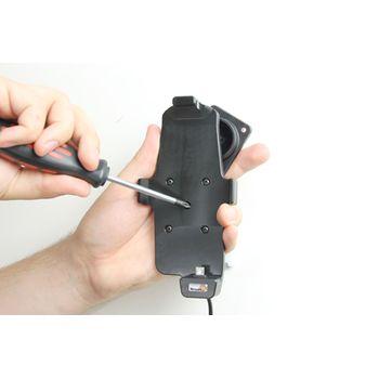 Brodit držák do auta pro HTC One s nabíjením, pouze s pouzdrem Hard Shell + pouzdro Hard Shell Double Dip C840