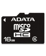 Adata microSDHC 16GB Class 6 paměťová karta + adaptér SDHC
