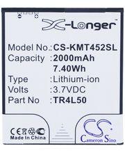Baterie pro Kazam Trooper 450/Trooper 450L, 2000mAh, Li-ion