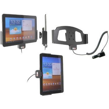 Brodit držák do auta na Samsung Galaxy Tab 10.1(1. gen.) bez pouzdra, s nabíjením z cig. zapalovače