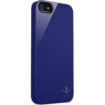 Belkin Shield pouzdro pro Apple iPhone 5, modré (F8W159vfC03)