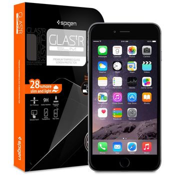Spigen GLAS.tR Nano Slim prémiové ochranné sklo pro Apple iPhone 6 Plus
