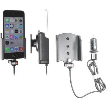 Brodit držák do auta na Apple iPhone 5C bez pouzdra , s nabíjením z cig. zapalovače/USB