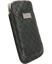 Krusell pouzdro Avenyn 3XL - HTC One X/Sensation XL, Galaxy Nexus/S II  133x71x10 mm (černá)