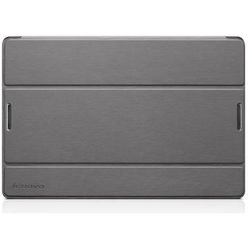 Lenovo flipové pouzdro + fólie na displej pro IdeaTab A10-70, stříbrná