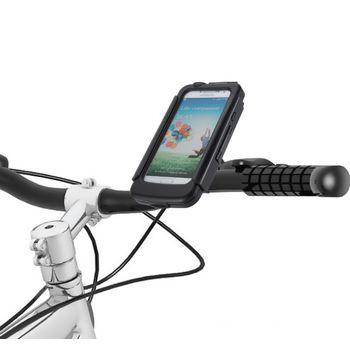 Držák BikeConsole Powerplus pro Samsung Galaxy S4 se záložním akumulátorem 2800mAh + microusb síťová nabíječka
