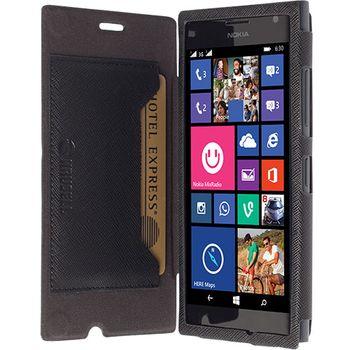 Krusell pouzdro FlipCover Malmö - Nokia Lumia 730/735, černá