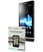Sony Xperia S 32GB (LT26i) - černá + navigace Sygic Evropa