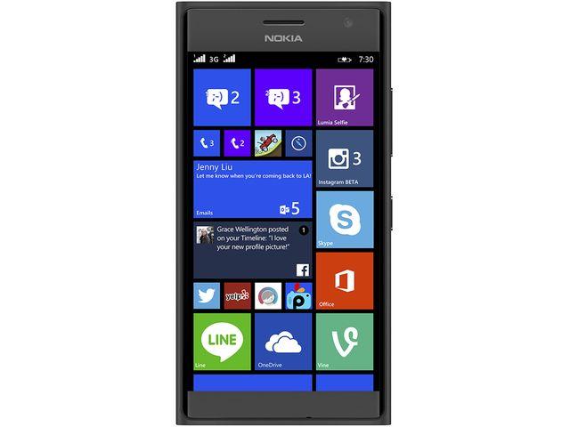 obsah balení NOKIA Lumia 730 DS Dark Grey + Leef microSDHC 32GB paměťová karta