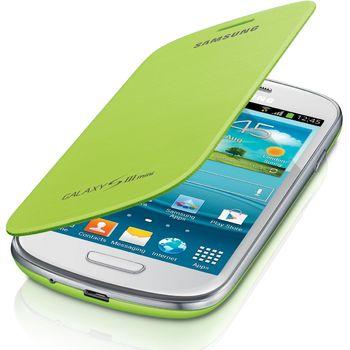 Samsung flipové pouzdro EFC-1M7FM pro Galaxy S III mini (i8190), světle zelená