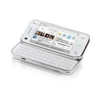 NOKIA N97 mini White + aktivní držák Brodit