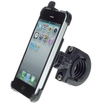 Sestava SH držáku pro Apple iPhone 5 s krátkým držákem na řídítka na kolo s kloubem